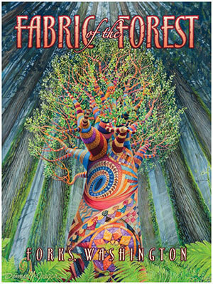 Fabric of the Forest poster available for purchase